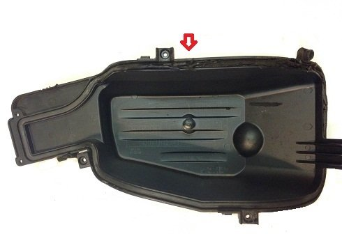 waterlekkage unit deksel opel corsa